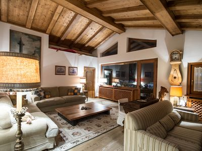 Photo for Beautiful penthouse in Cortina city center