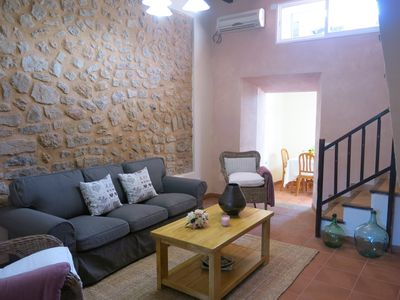 Photo for Stone house with terrace in Soller in sunny location. Parking. Internet access