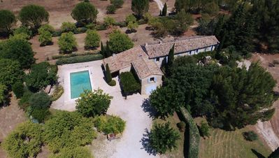 Photo for South Luberon, Mas of charm ****, 2 to 11 people, swimming pool, property of 1 ha