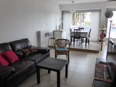 Photo for T2 / cabin for 4 people 8 minutes from the beach, Carnon-Plage