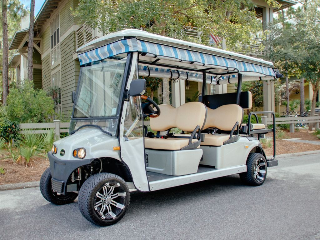 6 Seater Golf Cart Forest District Cart To Shopping Dining