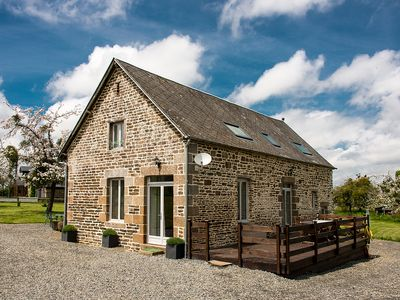 Photo for La Belle Grange - large luxurious converted barn with orchards in rural Normandy
