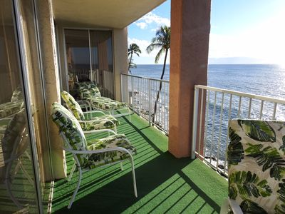 Photo for MAY SALE! 2BD/2.5BA Home 40 Ft. OCEAN FRONT LANAI RK410 FREE WIFI & Parking