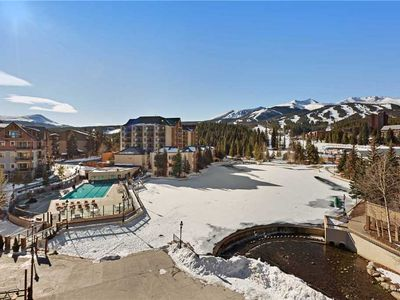 Photo for Great condo in the heart of Breck. Outdoor heated pool, 7 hot tubs