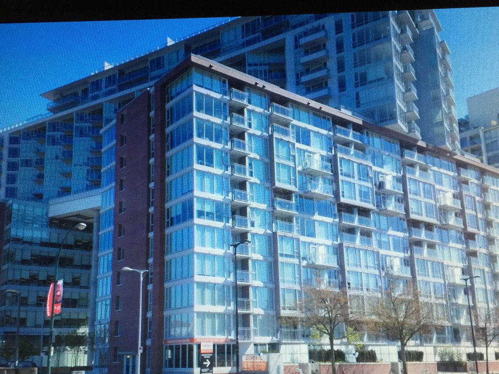 Vancouver Downtown 1BRD+DEN+FLEX Seawall Waterfront New Luxury Condo