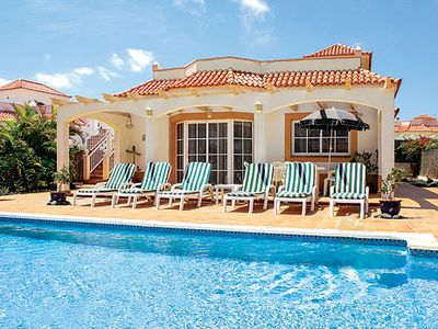 Photo for Comfortably furnished and conveniently located villa w/ large pool