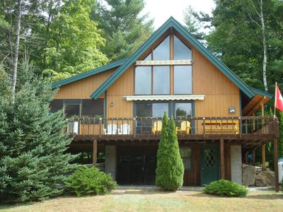 Photo for Loon Lake (Warren County) Chestertown: Bright, clean & cozy Adirondack chalet