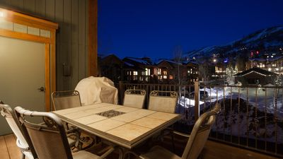 Deck with view of the Mountain and Gondola