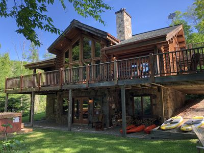 Photo for Chalet Cherokee Waterfront Near Mont-Tremblant!