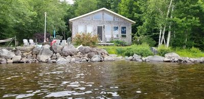 Photo for Gardner Lake Home:  Amazing views private and quiet