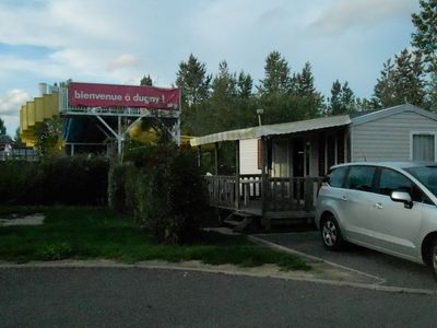 Photo for Mobil home with swimming pool on campsite 4 stars with holiday clubs