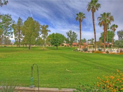 Photo for PS616 – Palm Desert Resort CC - Steps to the pool!  Sought After Vintage Style Floorplan
