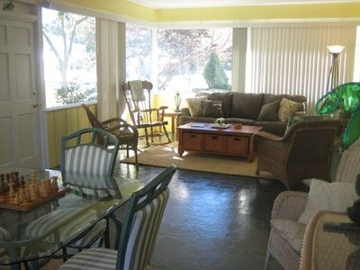 Photo for 3 Blocks to Beach, 1 Block to Town, Private Pool, Wireless-SUMMER RATES REDUCED
