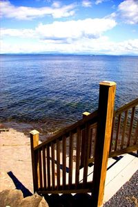 Step down to enjoy this gorgeous spot on the lake-right in the middle of it all!