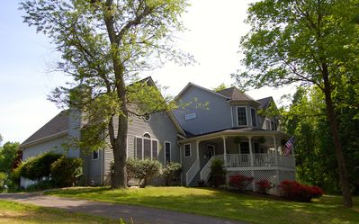 Photo for Estate Victorian/Sleeps 18(56 w/Farmhouse & Cottage)Hot Tub,Theater & Game Room