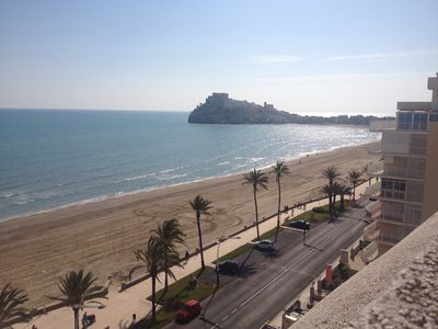 Photo for 1st LINE BEACH, 30mts OF TERRACE SPECTACULAR SEA VIEWS