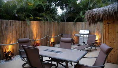 Photo for Your own private tropical courtyard at the beach, and the perfect location.