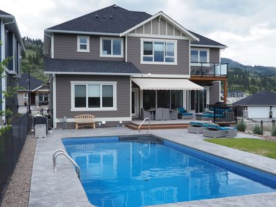 Photo for AVAILABLE LONG TERM SEPT. - 4 bedroom with POOL and VIEWS! - Two master bedrooms