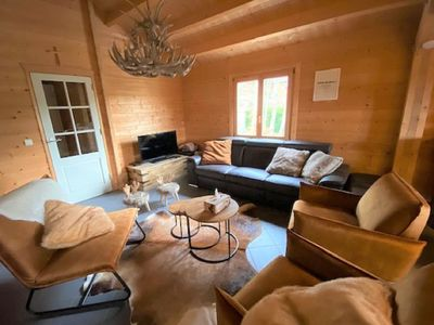 Photo for Elegant Chalet in Manhay with Sauna