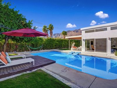Photo for Sleek & Stylish 3BD + 3BA Pool and Spa Home Walk to Downtown PS! - Bocce House