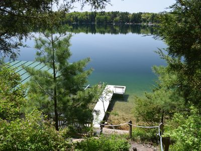 Photo for Northwoods Ambiance,  Beautiful Views, and Crystal Clear Waters