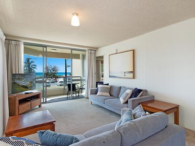 Photo for Kooringal Unit 3 - Wi-Fi included in this great value apartment right on Greenmount Beach Coolangatta