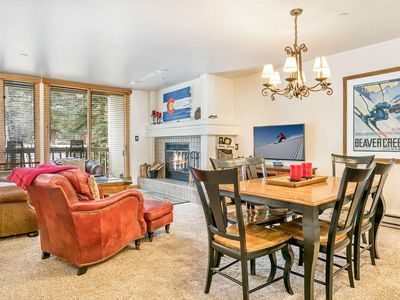 Photo for Ski In/Ski Out, Walk to Beaver Creek Village, YR Hot Tub, Convenient Location, Townsend Place Condo!