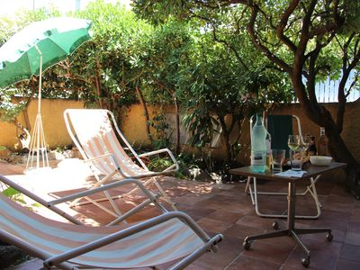 Photo for Large, quiet house villa with terrace 200 meters from the beach
