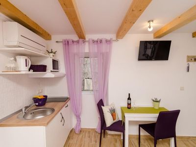 Photo for Studio apartment in the center of Dubrovnik with Internet, Air conditioning (989217)