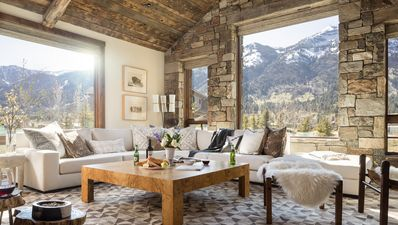 Photo for Luxury cabin in Teton Village, minutes from Grand Teton National Park