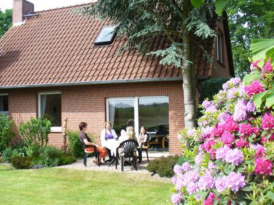 Photo for Non-detached holiday home with terrace in the Lüneburg Heath