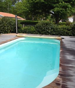 Photo for Renovated family house 10 people Lège Cap Ferret heated pool