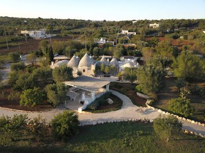 Photo for Charming, welcoming group of trulli fully restored