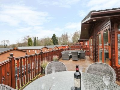 Photo for LAKELAND VIEW LODGE, with pool in Bowness-On-Windermere, Ref 972679