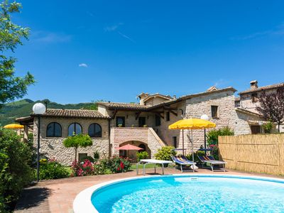 Photo for Spacious Holiday Home in Cagli with Garden