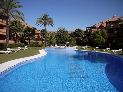 Photo for 2 bedroom Apartment, sleeps 4 in Playa Duque Marbella with Pool, Air Con and WiFi