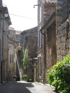 Street of the Washerwomen in Caunes