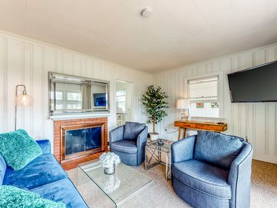 Photo for NEW LISTING! Family-friendly getaway - steps from the beaches & a mile from town