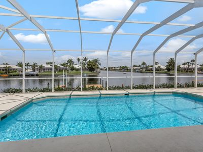 Photo for Caribbean Blue - waterfront, Gulf Access, quiet neighborhood, large pool