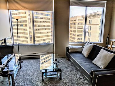 Photo for Modern DOWNTOWN Loft Near ROGERS PLACE,SHAW CONF