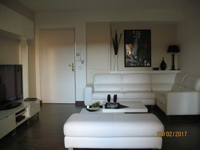 Photo for APT 45 m2 air-conditioned for 2 people 50 m from the city center and the port