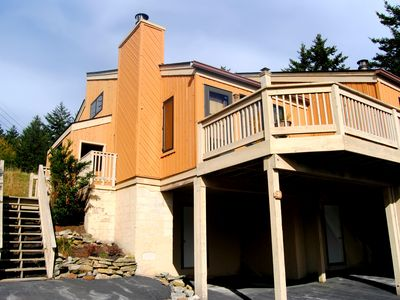 Photo for Pet friendly. Wifi, wood fireplace, washer/dryer, and shuttle service.