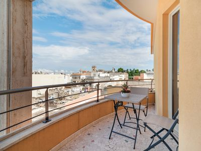 Photo for Charming penthouse w/ kitchenette & furnished balcony - near wineries & beaches