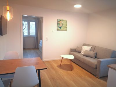 Photo for Quiet and central apartment in Kempten with Iller view
