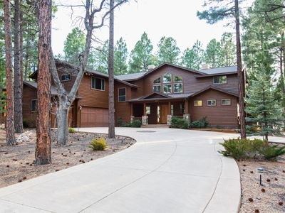 Photo for Gorgeous Modern Pine Cabin on Golf Course in Torreon!
