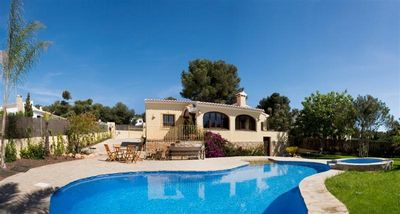 Photo for Children's favourite! Sunny holiday home with WIFI in Javea, Costa Blanca for 6
