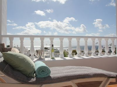 Photo for Spacious two bedroom house near the beach with private terrace and sea views