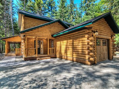 Photo for Experience LOG HOME near Crystal Mountain skiing and Rainer Nat'l Park