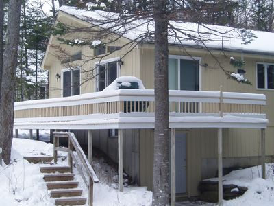 Photo for One Mile from Mount Snow!  Jacuzzi, Sleeps 7, Pet Friendly, WiFi