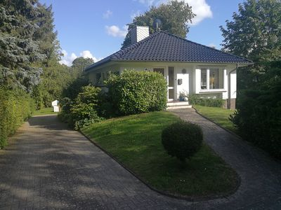 Photo for Vacation bungalow with a garden property only 3 minutes away from the beach